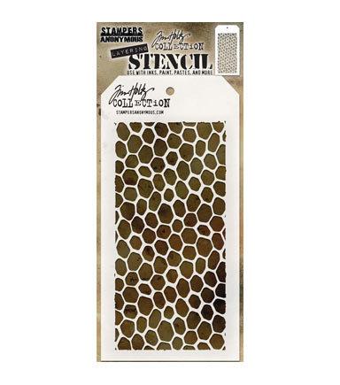 Tim Holtz® Layering Stencil - Hive