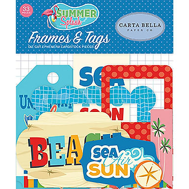 Carta Bella® Ephemera - Summer Splash