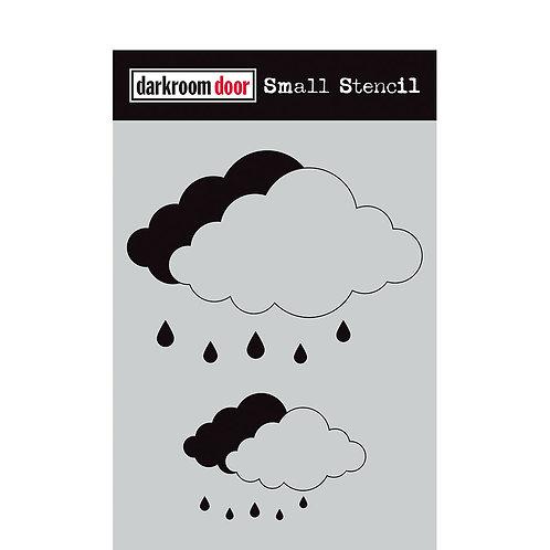 Darkroom Door® Small Stencil - Cloud Set