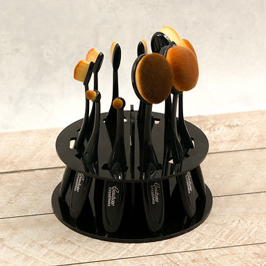 10pc Blending Brush Kit with Display Stand