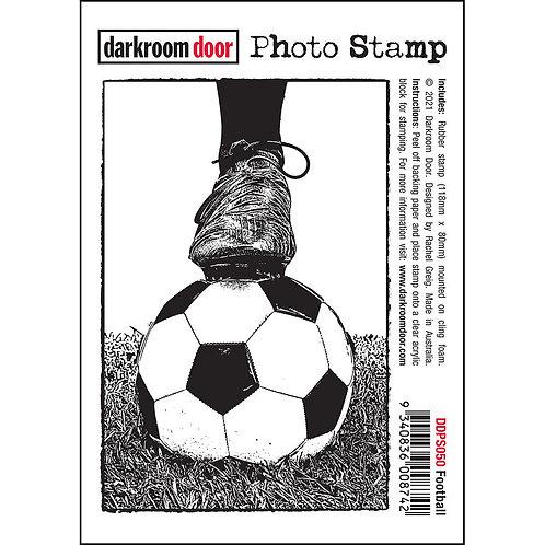 Darkroom Door Photo Stamp - Football