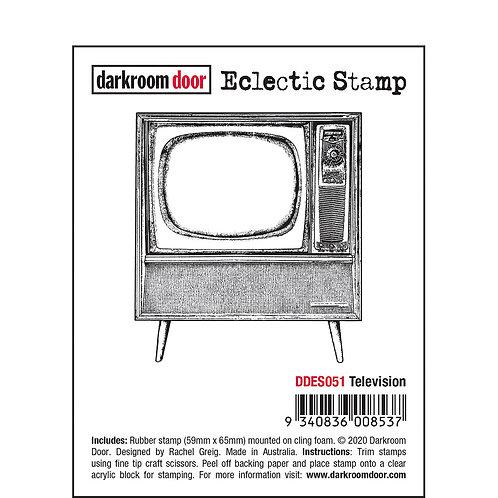 Darkroom Door Eclectic Stamp - Television
