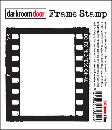 Darkroom Door Frame Stamp - Film