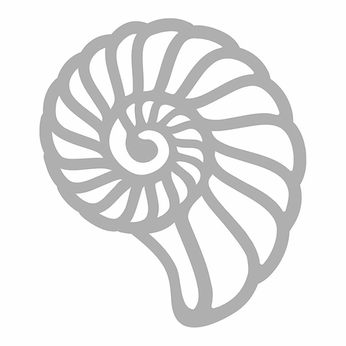Couture Creations® Seaside Girl - Swirling Shell Mini Die (1pc)
