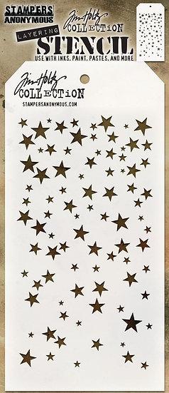 Tim Holtz® Layering Stencil - Falling Stars
