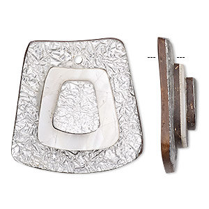 Focal, wood / cabibe shell / resin / aluminum
