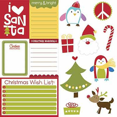 Bella Blvd® Christmas Wishes - Cute Cuts 12 x 12