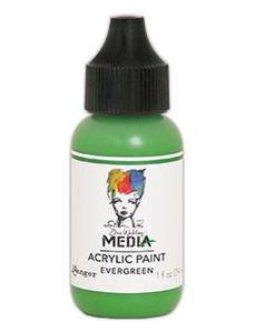 Dina Wakley® Media Acrylic Paint 1oz - Evergreen