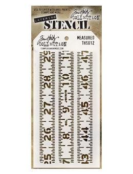 Tim Holtz® Layering Stencil - Measured