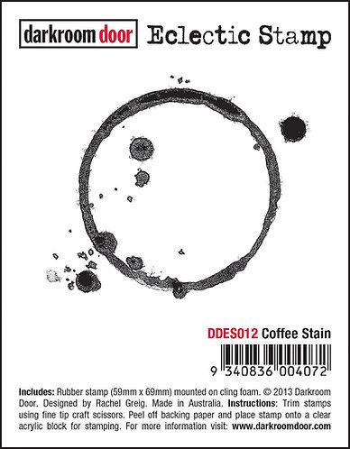 Darkroom Door Eclectic Stamp - Coffee Stain