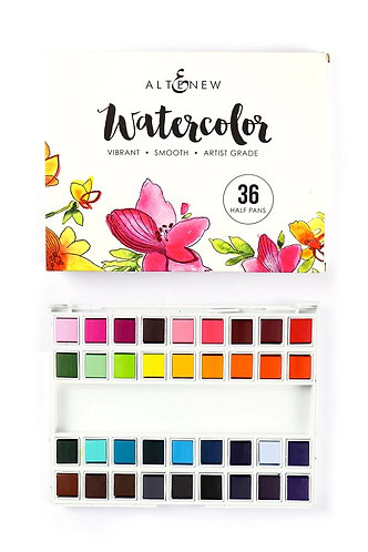 Altenew® 36 pan Watercolor Set