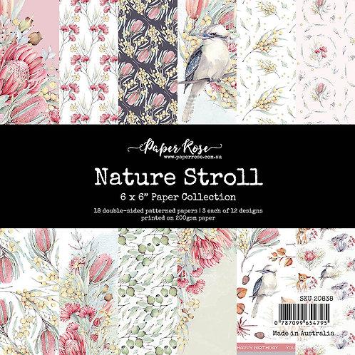 Paper Rose - 6x6 Paper Pack - Nature Stroll