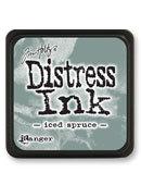 Tim Holtz® Mini Distress Ink Pad - iced spruce