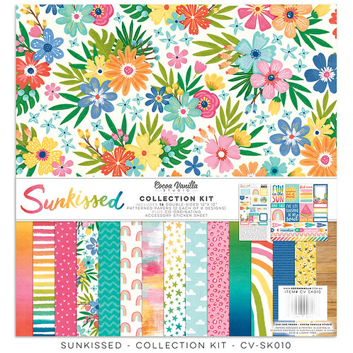 Cocoa Vanilla - Sunkissed – 12 x 12 Collection Kit