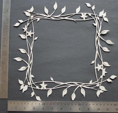 2Crafty Chipboard - Viney Page Frame