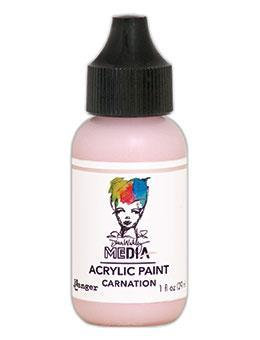 Dina Wakley® Media Acrylic Paint 1oz - Carnation
