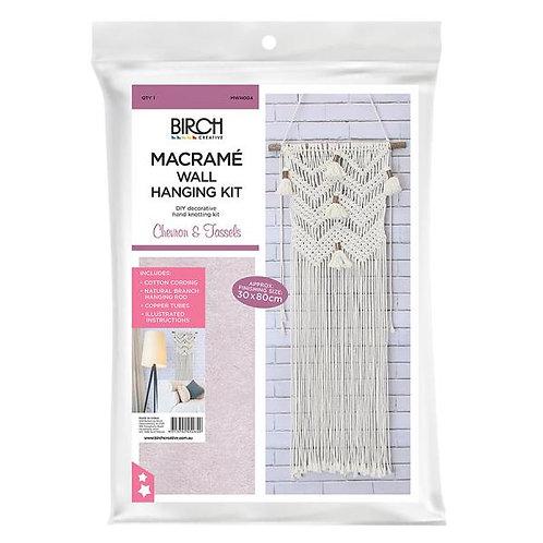 Birch Macrame Kit - Chevron