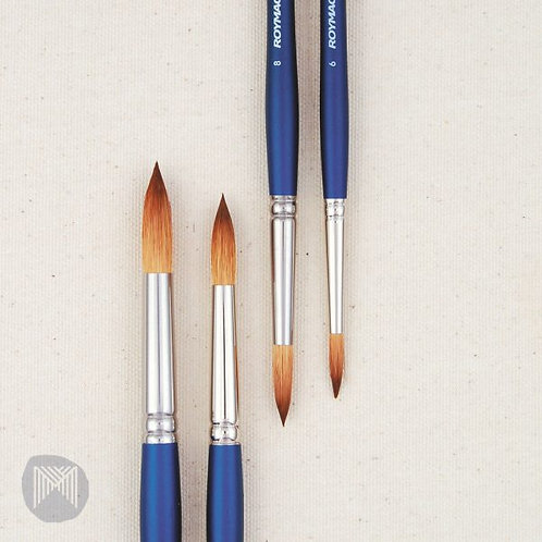 Micador Roymac Revolution Watercolour Brushes - Round