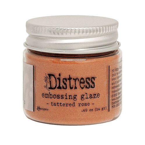 Tim Holtz® Distress Embossing Glaze - Tattered Rose