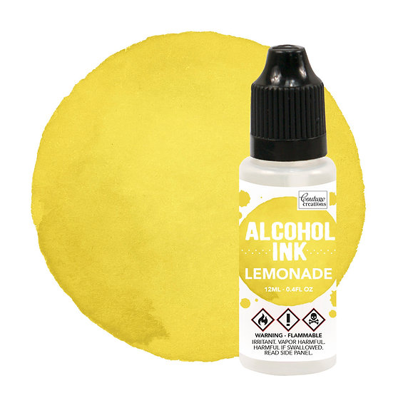 Couture Creations Alcohol Ink - Lemonade