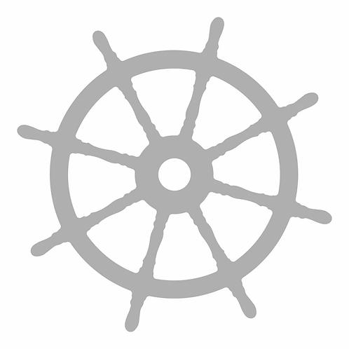 Couture Creations® Seaside Girl - Ship's Wheel Mini Die (1pc)