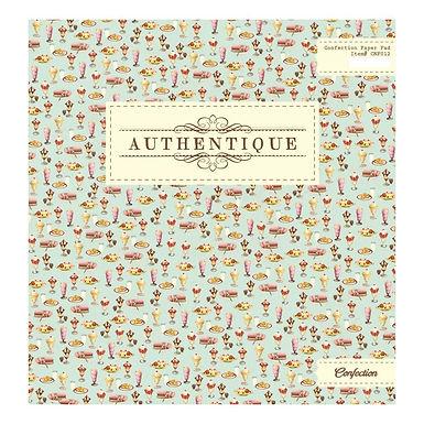 Authentique® 12 x 12 Paper Pad - Confection