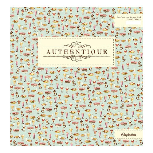 Authentique® 12 x 12 Paper Pad - Confection