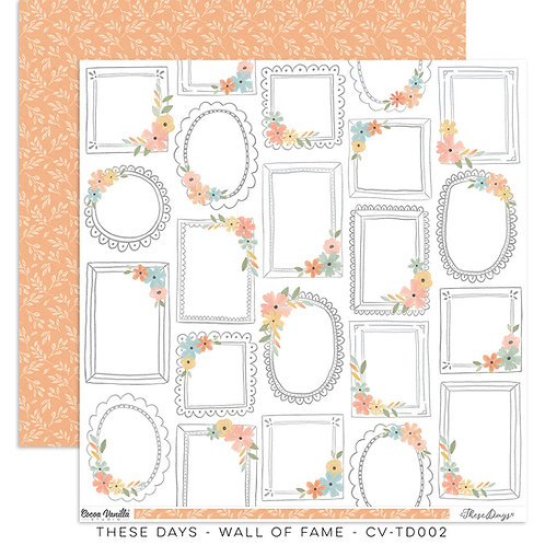 Cocoa Vanilla - These Days - Wall of Fame - 12 x 12
