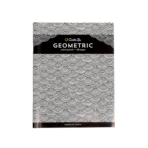 Creative Zen Coloring Book - Geometric