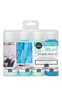 American Craft Color Pour Kit - Tidal Wave