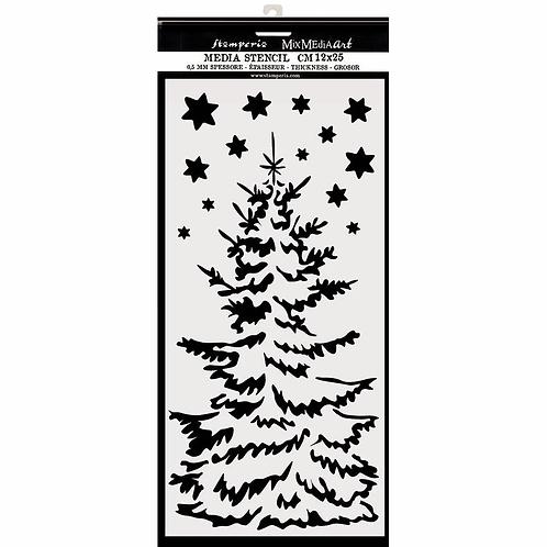 Stamperia® Xmas Tree Stencil