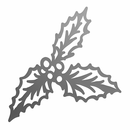 Mini Die - The Gift of Giving - Holly Sprig