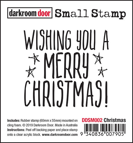 Darkroom Door Small Stamp -Christmas