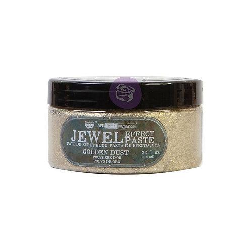 Finnabair Art Extravagance Jewel Texture Paste 100ml Jar - Golden Dust