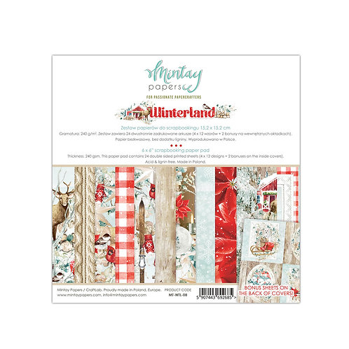 Winterland by Mintay Papers 6 x 6 Paper Pad