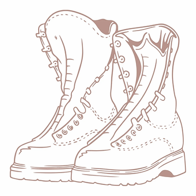 Couture Creations Mini Stamp - Boots