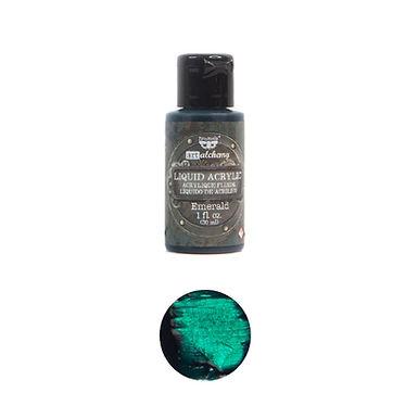 Art Alchemy – Liquid Acrylics – Emerald –  30ml