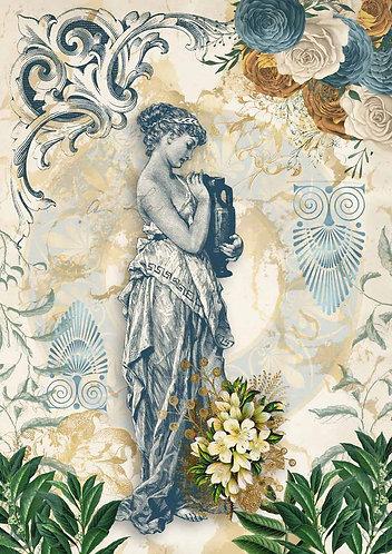 Decoupage Queen® Decoupage Paper - Grecian Goddess