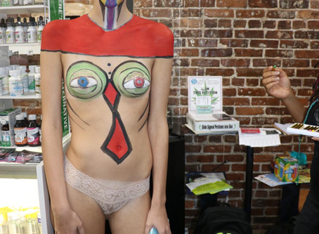 Body Painting - A fun process with beautiful results