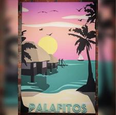 Digital Illustration - Beach 3