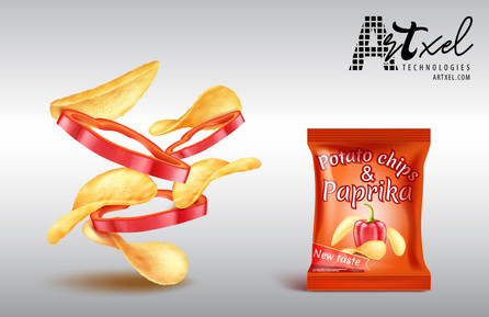 Packaging Design Potato Chips