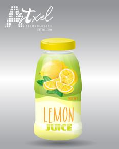 Packaging Design Lemon Juice