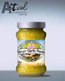 Packaging Design Ginger Garlic Paste