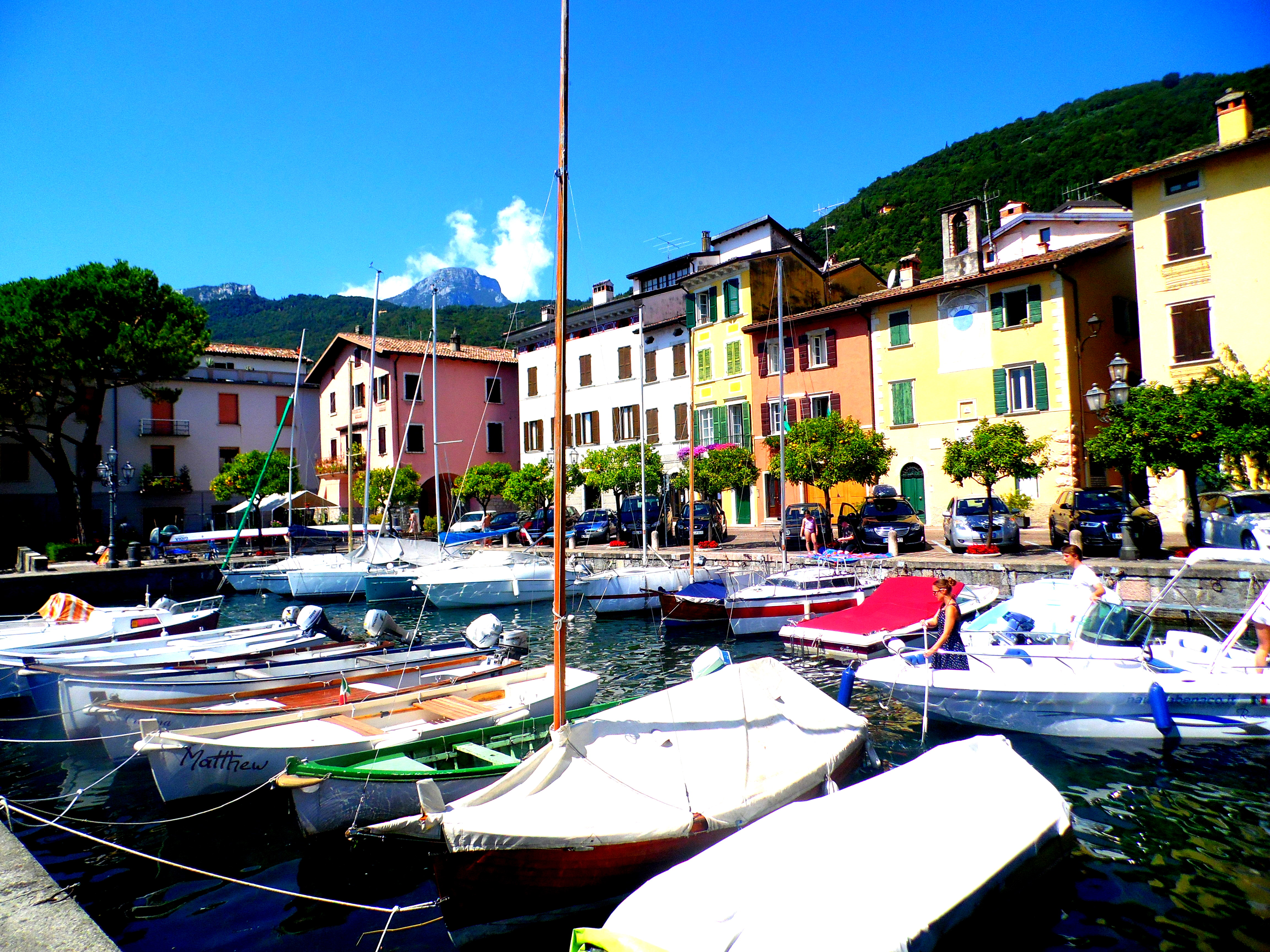 Gargnano on Lake Garda