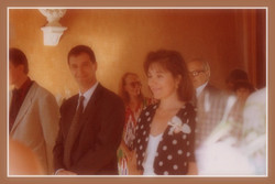 Our civil wedding in France 18.08.90
