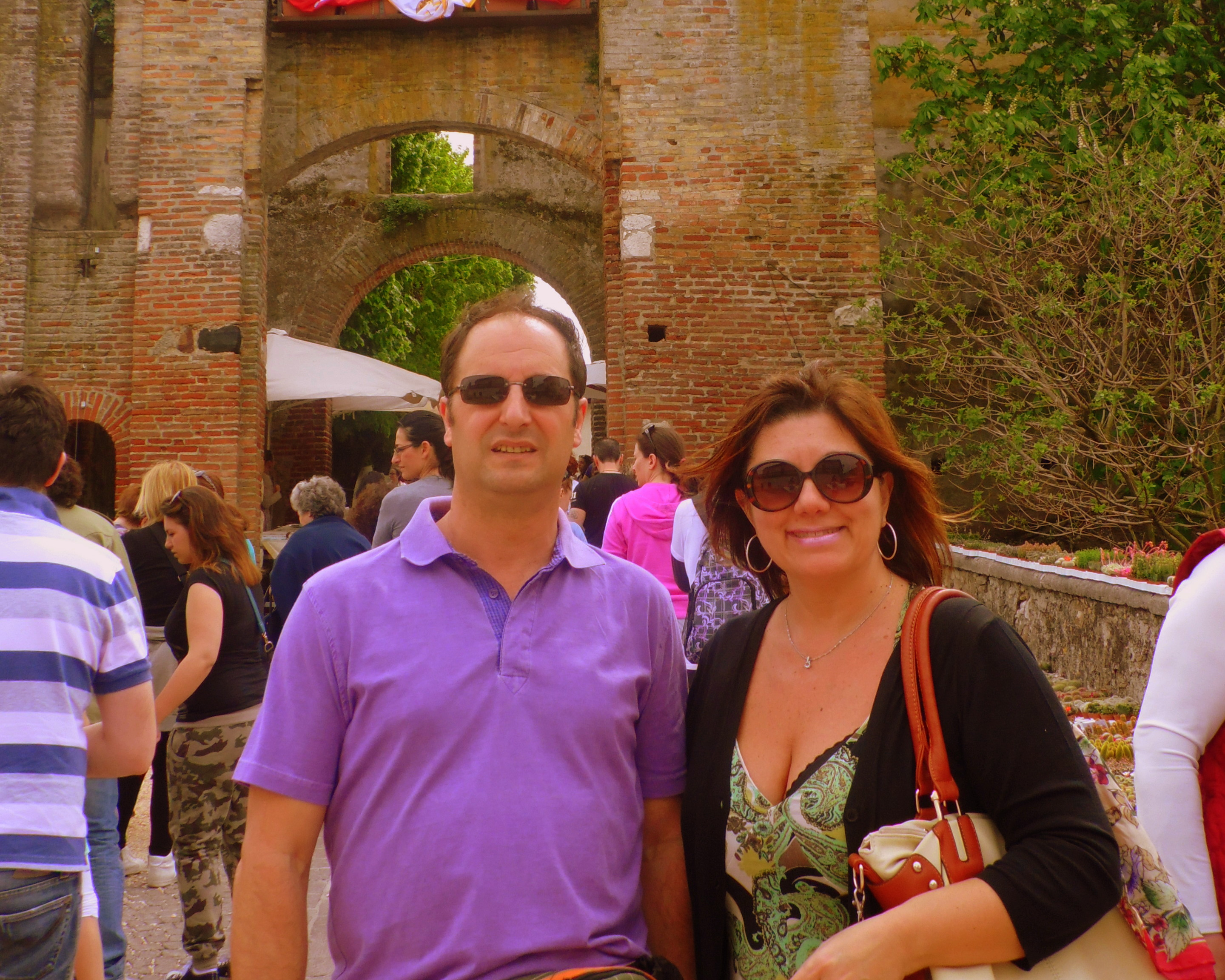 Jacques & I at Castellaro Lagusello