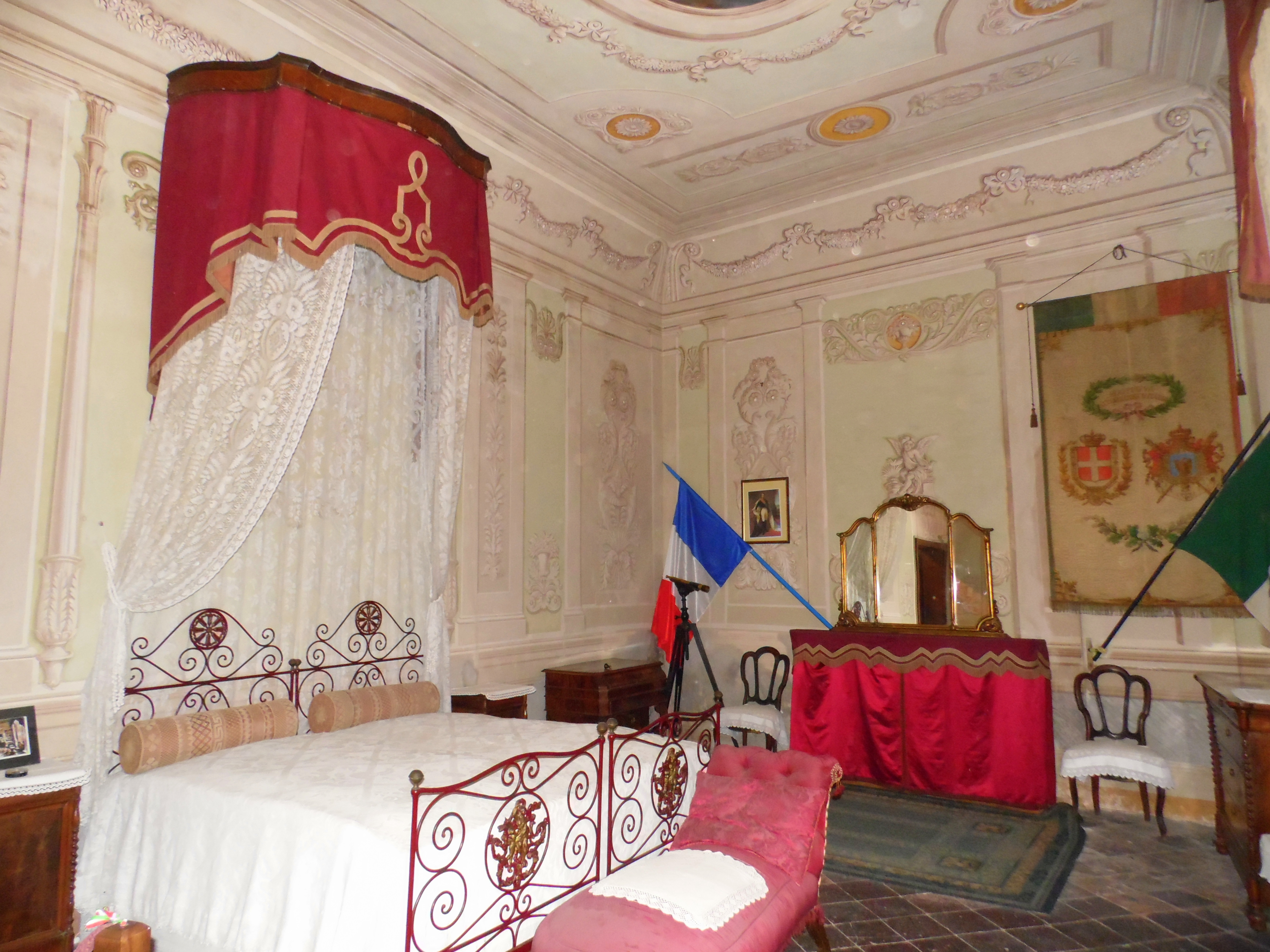Napoleon III bedroom