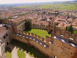 The town of Soave