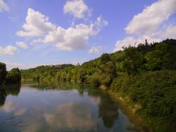Valeggio: the River Mincio