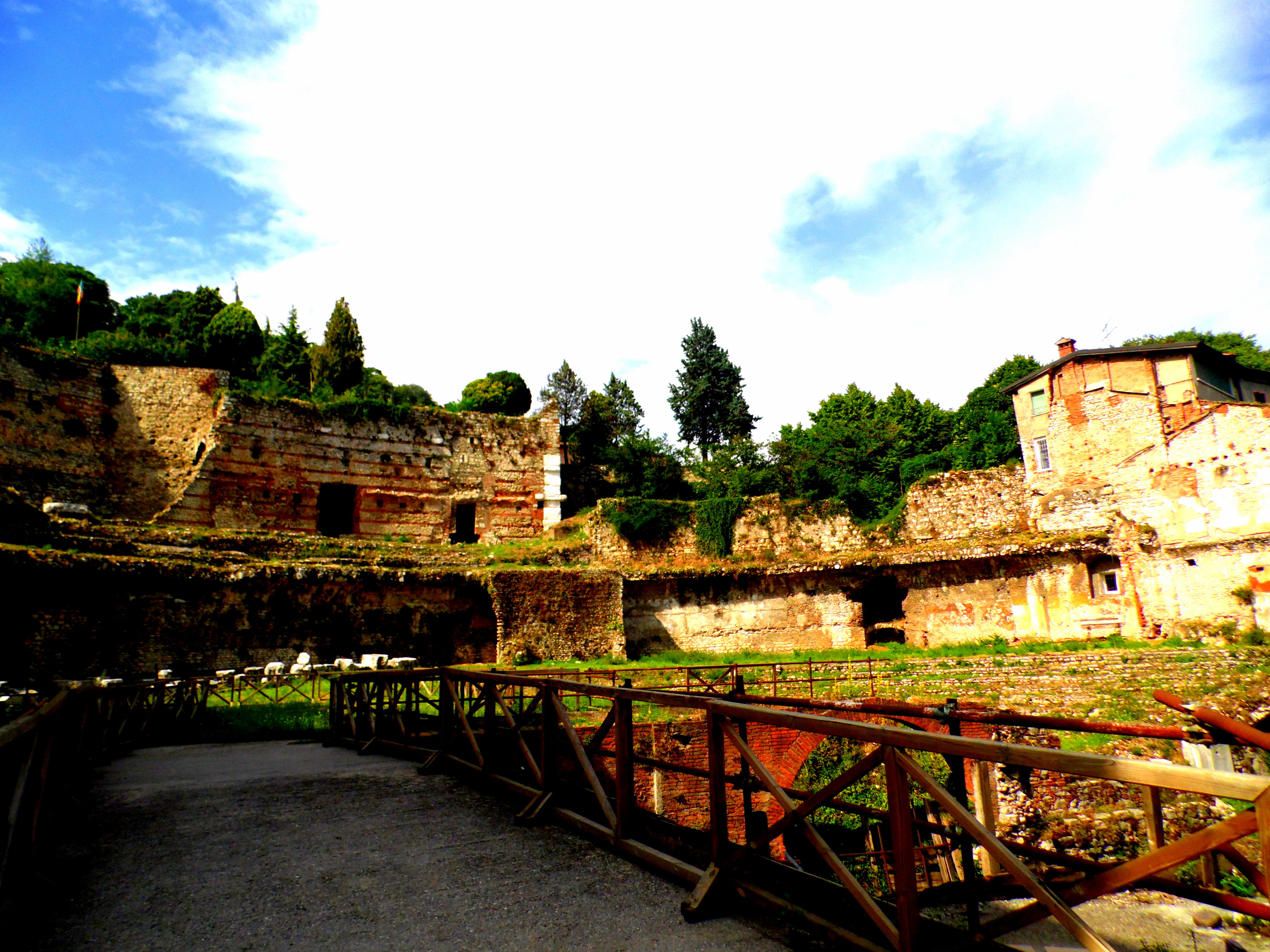 Brescia: the ancient Theatre